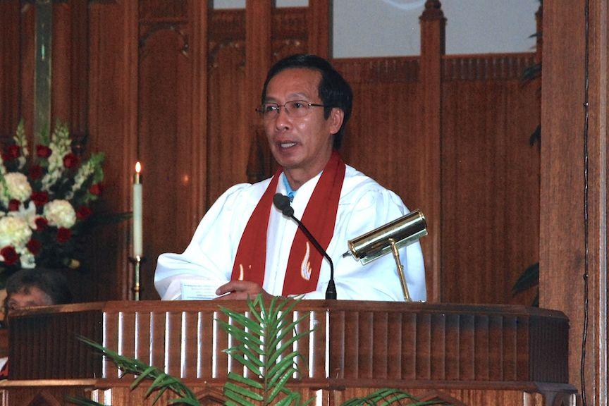 Wesley's Senior Pastor, Rev. Dr. Cuong Nguyen